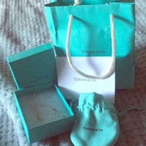 "Tiffany & Co. ""T"" necklace"